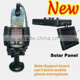 Solar Power Supply Car Speaker Mobile Phone Holder Handsfree