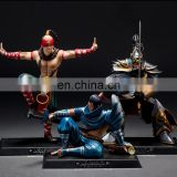 wholesale custom pvc League of Legends action figure lee sin LOL mini figures