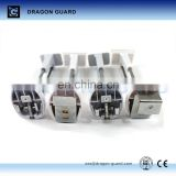 DRAGON GUARD EAS clothing display hook, sliding hook lock, display hooks locks with key