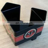 Fashion design Plastic Bar Caddy&Napkin holder