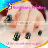 hot sale self adhesive populer water nail stickers