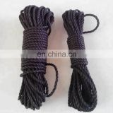 nylon braided rope double braided rope 4mm 6mm fasten system