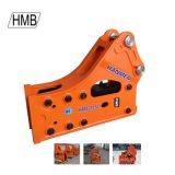 Excavators Side Type HMB1350 Hydraulic Hammer Earthmoving Breaker
