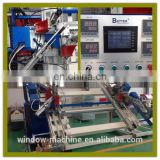 Four corner Welding Machine / Plastic door window processing machine / UPVC window produce line