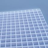 plastic eggcrate grille core panel white China