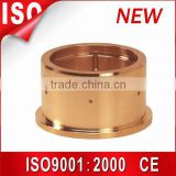 Guide bush,copper fan motor dry bearing, sintered bronze bushing,oil grove brass bushing,DU split oilless bush