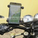 Outdoor travel essentials! Universal motorcycle/bicycle phone holder 360 rotating mount GPS/PDA/PSP/MP4 & smart Phone