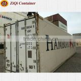 China supplier	20ft/40ft HC HQ	used	reefer container	high standard	retail price	for sale in Liaoning