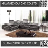 Italian design Large Size U-shaped genuine leather corner Sofa