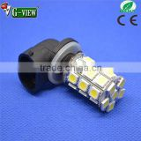 DC 12v--24v saving energy lED light coming into market 881 27smd 5050 car led automobile car fog light bulb available widely