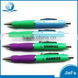 High Quality Promotional Metal pen with rubber Grip For