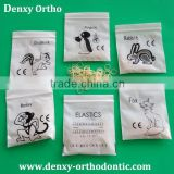 high-quality ortho supplier clear rubber bands latex elastics