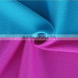 Waterproof and Breathable 100% Polyester Mesh Fabricfor Sportswear/Mesh Fabric Laminated with TPU