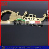 fashion VENEZIA italy souvenir metal bottle opener with boat key ring