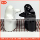 spice shaker white and black porcelain salt and pepper shaker set husband and wife shaker set