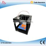 LY G-code Zero Full Metal,Touch Screen Control 3D printer,100% good feedback
