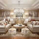 2015 New Design Luxury Antique Amercian Style Furniture Living Room Solid Wood Hand Carved Sofa Design Furniture Sets                                                                         Quality Choice