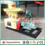 High yield vertical ring die type 90kw environmental protection pellet machine used biomass