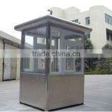 Stainless steel of nonperishable security guard booth, mobile sentry box, movable sentry box
