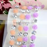 Flower Rhinestone Chains in bulk for DIY Decoration