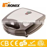 CE GS ROHS ETL 3 IN 1 DETACHABLE 4 SLICE SANDWICH MAKER