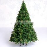 HOT SALE Artificial Christmas tree PVC material Christmas decoration metal stand Christmas tree