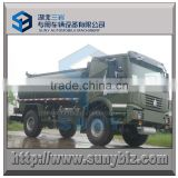 4 off road tire fuel tanker truck, SINOTRUK HOWO all wheel drive 12000 L oil tanker truck                                                                         Quality Choice