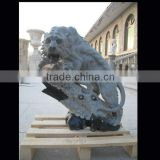 Unique lion stone statue