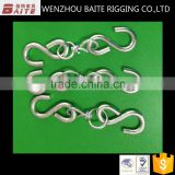 Steel Electric Galvanized 2pcs S Snap Hook Meat Hook Set Rigging Hardware in China