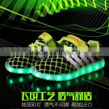 Wholesale LED Light Kids Shoes / Shoes With Lights For Kids / LED Light up Kids Shoes