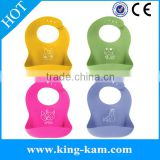 China baby bib manufacturer 2016 new arrival cotton bandana baby bib cute silicone baby bib teething bib