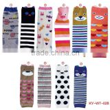 fashion animal printed baby leg warmers cotton leg warmer for kid