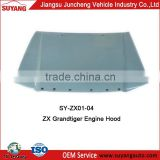 Aftermarket Engine Hood/Bonnet For ZX Grandtiger Auto Body Parts