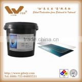 UV hydrofluoric acid resistant ink for OGS glass, glass etching protection