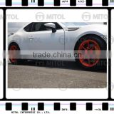 Side Skirt ST Style For Toyota GT86/Scion FR-S/Subaru BRZ Body kits