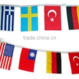 Country promotional custom gift Car Flag different country flag for car window with holder