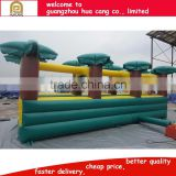 Hotsale Giant used commercial inflatable city slide, PVC material inflatable adult outdoor slide