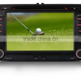 "7"" Car DVD/GPS Bluetooth USB SD Player For VW GOLF TIGUAN Sharan EOS Caddy Jetta SEAT"