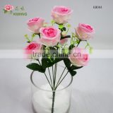 table Decor Wedding Party Rose Garden Decoration Artificial Valentine bulk Silk Flower