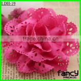 Artificial fabric make satin ribbon flowers