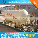 3 layer anti-rust painting lpg gas storage tank for lpg skid station