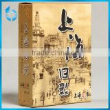 Shanghai impression brand paper box printing retro color for playing cards