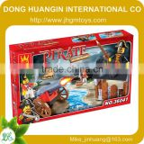 Shantou Priate SERIES educational buidling block toy,intelligent building block bricks construct toy