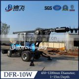 DFR-10W Hydraulic earth piling auger machine