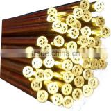 EDM Brss Electrode Tube & EDM Brass Pipe Multi Hole Tube 1.0mm x 400mm