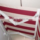 Mtorized Balcony arm retractable Aluminum awning with Rain Channel on front bar                                                                         Quality Choice