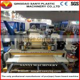Professional manufacturer pvc/wpc furniture/advertising/formwork/indoor decoration board making machine