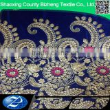 African guinea brocade cheap sequin design george fabric styles lady dress                                                                                                         Supplier's Choice