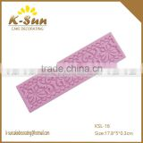 Reposteria moldes Silicone cake decorating lace icing impression mat how to make cake decoration