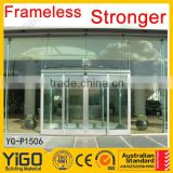 Lowest cost glass and aluminum curtain wall systems
